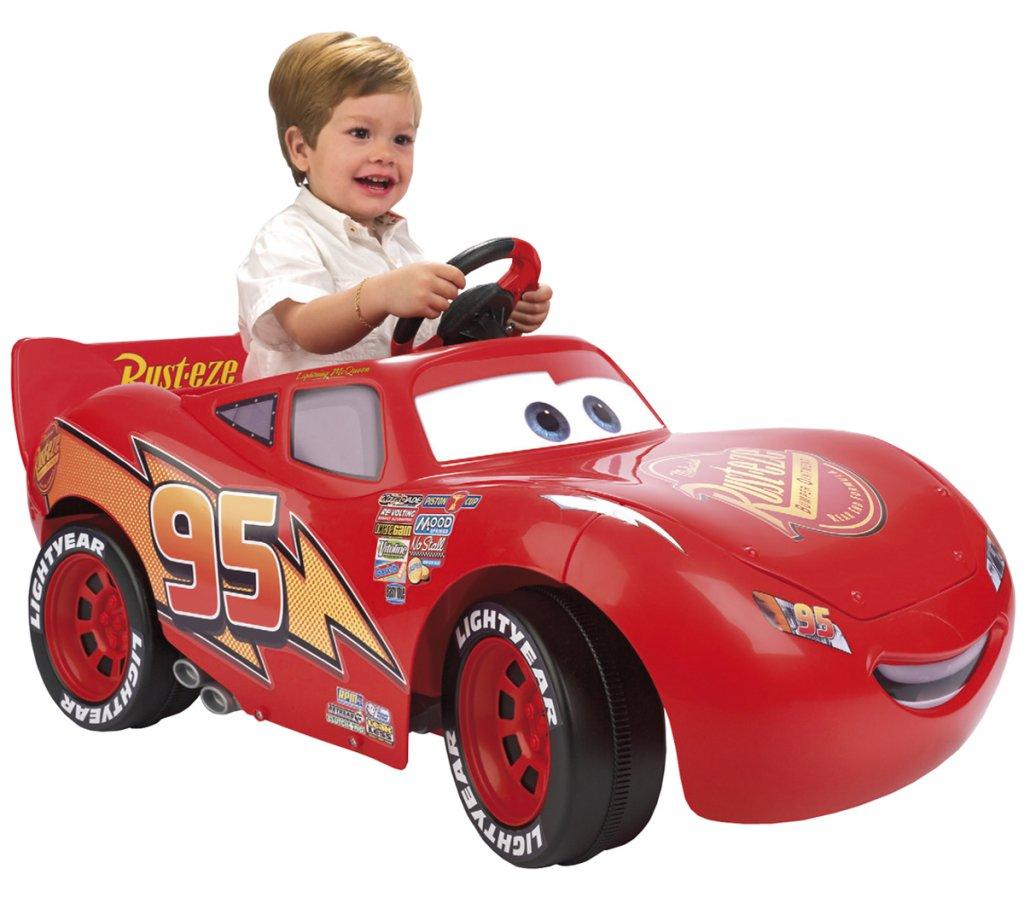 voiture électrique flash mcqueen