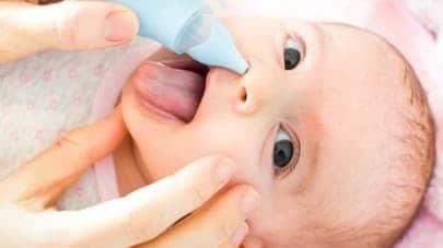 A quelle fréquence faut-il moucher un bébé ?