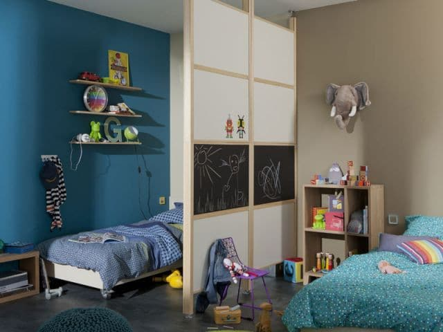aménagement chambre pour 2 enfants