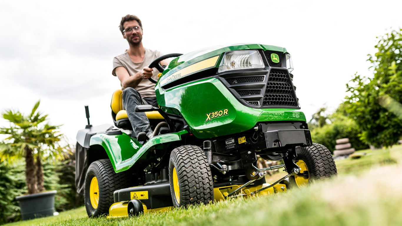 tracteur tondeuse mulching