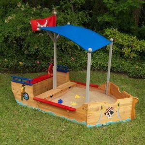 bac à sable bateau pirate