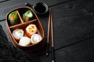 bento repas japonais